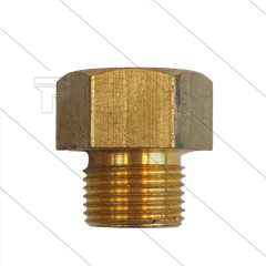 "Thermostat Adapter - Messing - 3/8"" IG x 3/8"" AG - Koch - für EGO Thermostat"